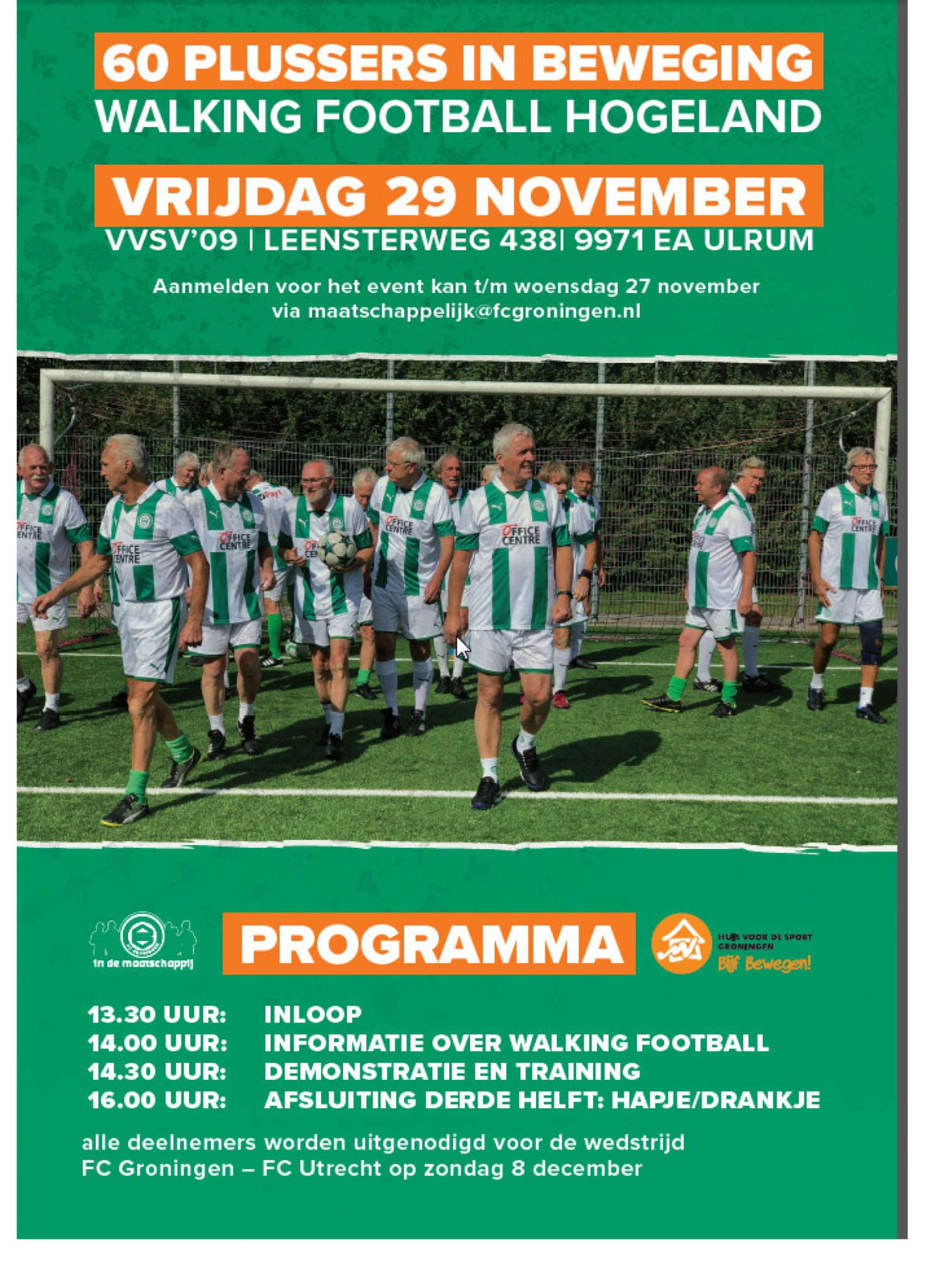 Walking Football Hogeland